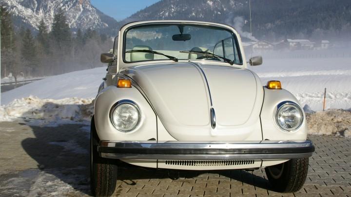 Käfer Cabrio mieten im Berchtesgadener Land