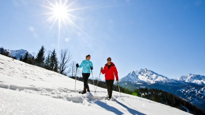 Schneeschuhe in Berchtesgaden